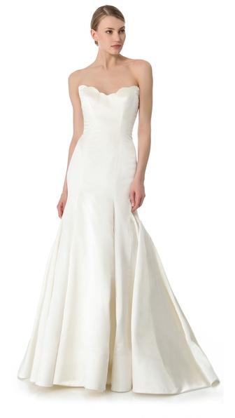 Reem Acra Iris Gown