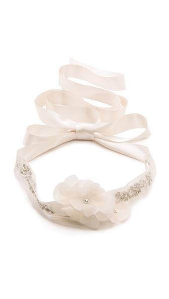 Reem Acra Crystal Belt