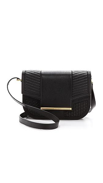 Hudson Hudson Knox Messenger Bag (Black)