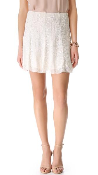 Renzo + Kai Embellished Flounce Skirt
