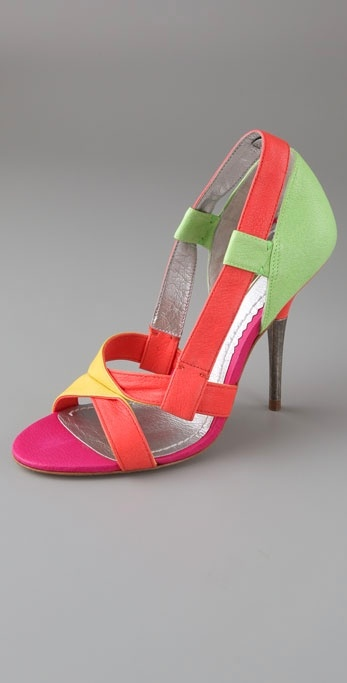 Report Signature Perrin Open Toe Banded Pumps