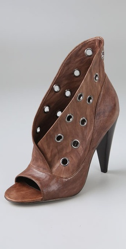 Report Signature Vandalia Open Toe Booties