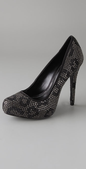 Report Signature Parker Crystal Leopard Pumps