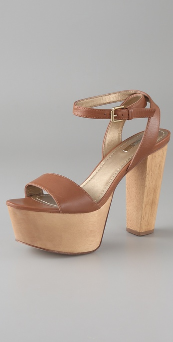 Report Signature Carle Ankle Strap Platform Sandals