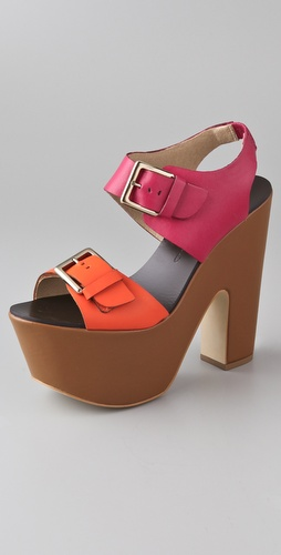 Report Signature Bruner Platform Sandals