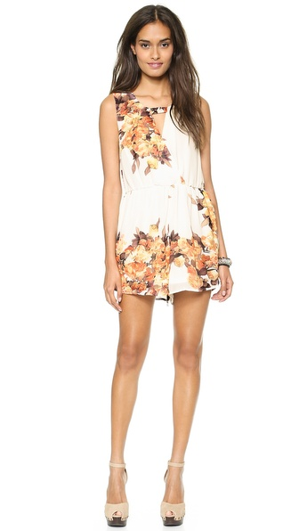 Reverse Isabelle Romper - White Floral