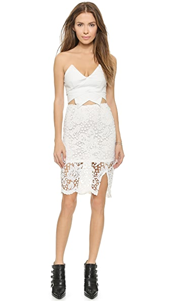 Kupi Reverse haljinu online i raspordaja za kupiti Reverse Jessica Lace Dress White online