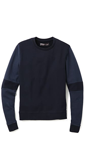 Robert Geller Seconds 2 Tone Sweatshirt
