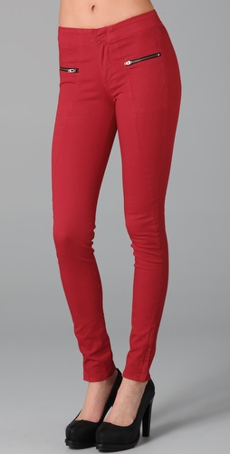 Rag & Bone/JEAN Zipper Skinny Jeans