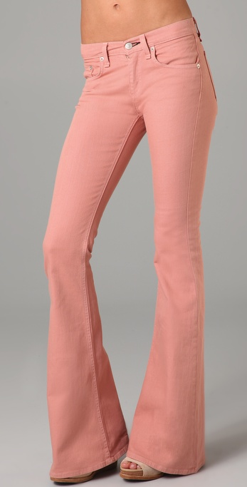 Rag & Bone/JEAN High Waist Bell Bottom Jeans