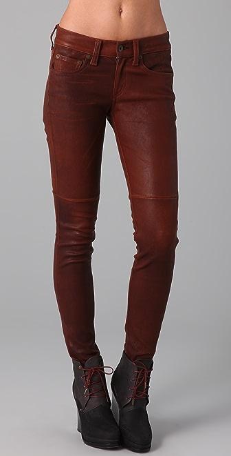 Rag & Bone/JEAN Skinny Leather Pants