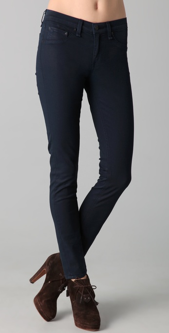 Rag & Bone/JEAN The Coated Legging Jeans