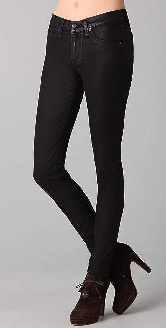 Rag & Bone/JEAN The Coated Legging Jeans