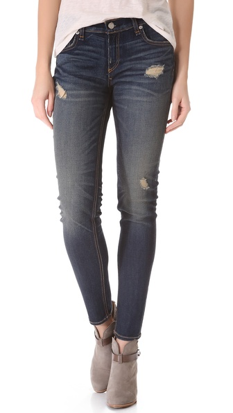 Rag & Bone/JEAN Slouchy Skinny Jeans