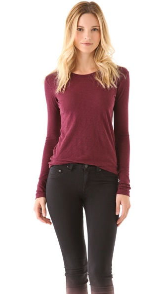 Rag & Bone/JEAN The Classic Long Sleeve Tee