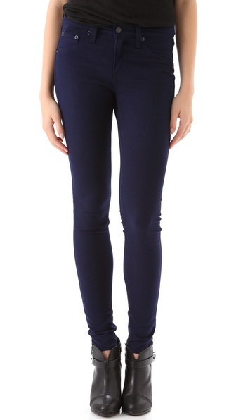 Rag & Bone/JEAN Mid Rise Legging Jeans