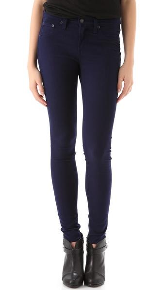 Rag & Bone/JEAN Mid Rise Legging Jeans