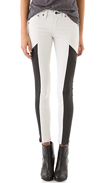 Rag & Bone/JEAN Grand Pix Motocross Legging Jeans