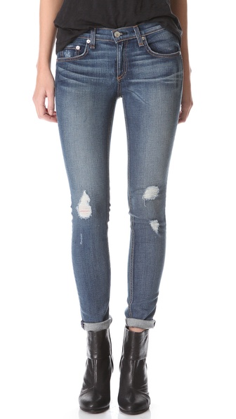Rag & Bone/JEAN The Ripped Skinny Jeans