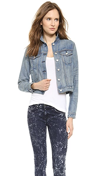Rag & Bone/Jean Denim Jacket - Perfect Wash