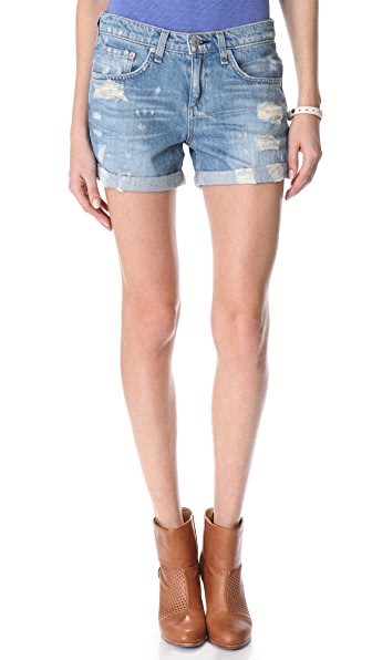 Rag & Bone/JEAN Boyfriend Shorts