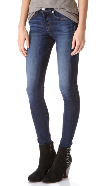 Rag & Bone/JEAN High Rise Skinny Jeans