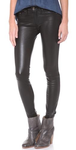 Rag & Bone/JEAN The Leather Skinny Pants