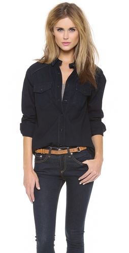 Rag & Bone/JEAN The Western Shirt at Shopbop / East Dane