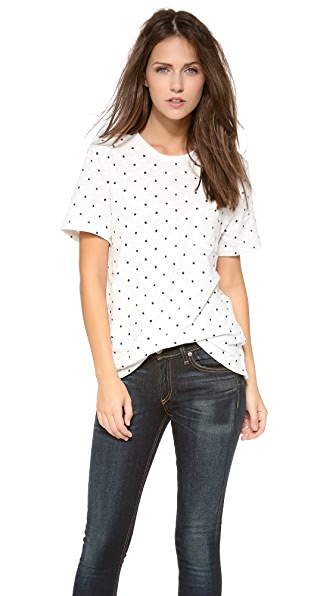 Rag & Bone/JEAN Graphic Pocket Tee