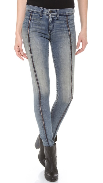 Rag & Bone/JEAN The Split Separating Legging Jeans