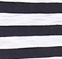 Indigo/White Stripe