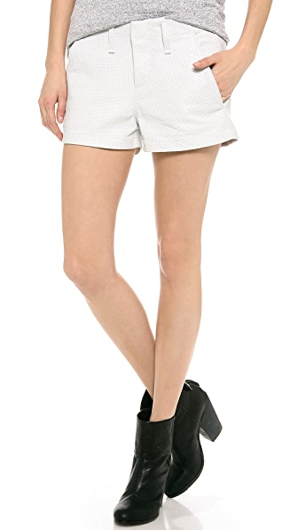 Rag & Bone/JEAN The Leather Portobello Shorts