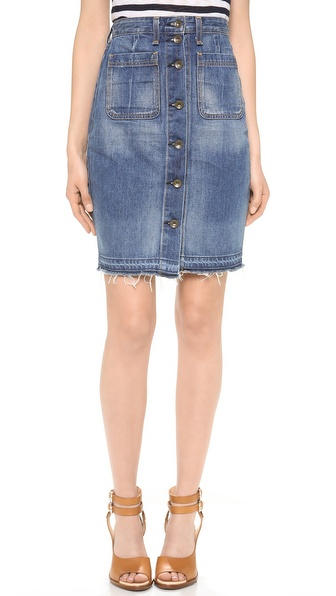 rag bone jean the denim skirt shopbop