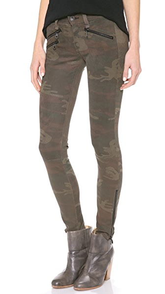 Rag & Bone/JEAN RBW 23 Leather Camo Pants