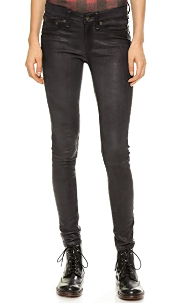 Rag & Bone/JEAN The Leather Skinny Pants