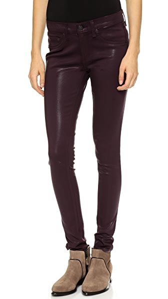 Rag & Bone/JEAN Coated Legging Jeans