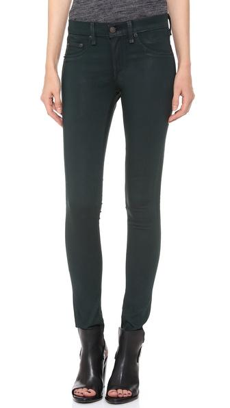 Rag & Bone/JEAN Coated Legging Jeans
