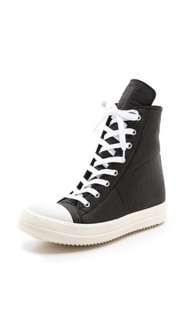 Rick Owens DRKSHDW Ramones High Top Sneakers