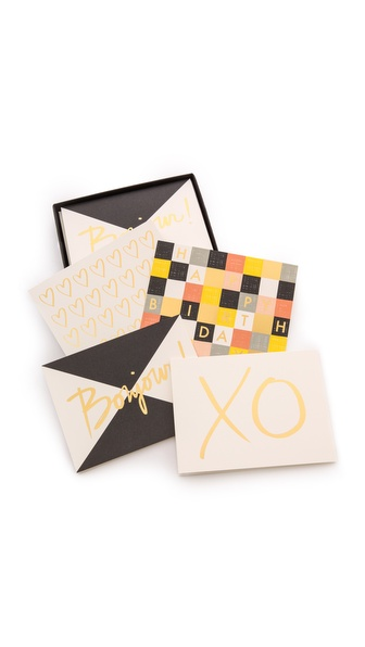 Rifle Paper Co Garance Dore Collection Graphic Assorted Greeting Card Set