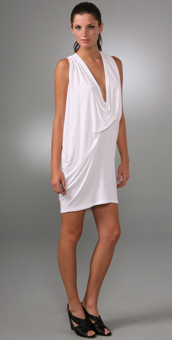 Riller & Fount Athens Draped Mini Dress