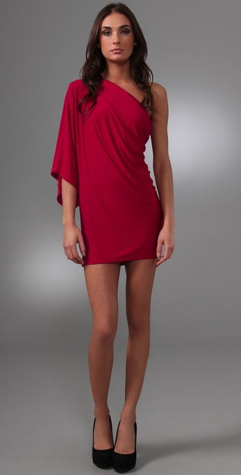 Riller & Fount Fiona Mini Dress with Kimono Sleeve