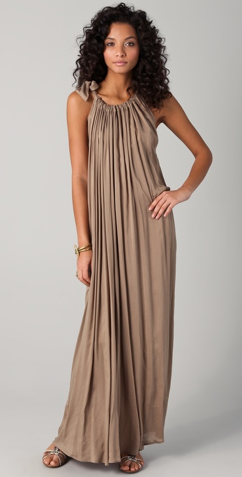 Riller & Fount Theona Gathered Maxi Dress