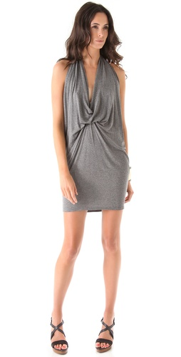 Riller & Fount Devi Halter Mini Dress