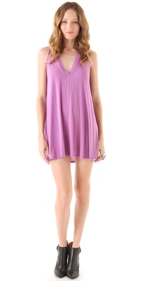 Riller & Fount Juno V Neck Tunic Dress