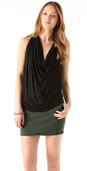 Riller & Fount Ella Draped Tank