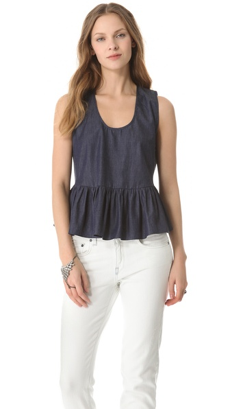 Riller & Fount Peplum Tank