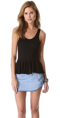 Riller & Fount Leona Peplum Top