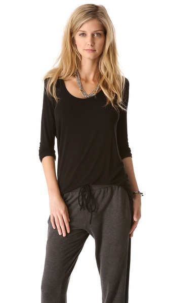Riller & Fount Matt Scoop Back Tunic