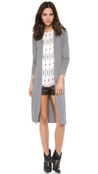 Riller & Fount Hoyt Side Slit Cardigan