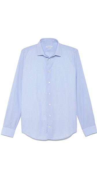 Richard James Micro Check Dress Shirt